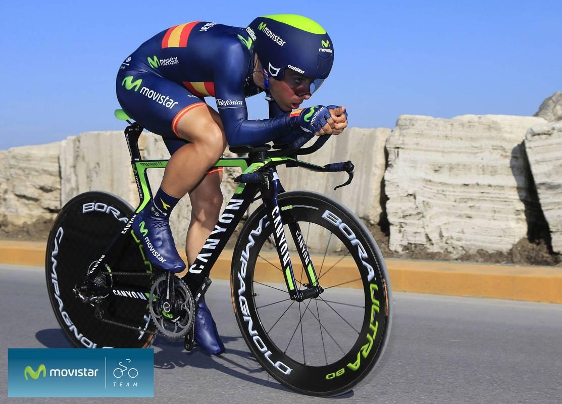 Movistar se lleva la contrarreloj por equipos de jerez for Equipos de ciclismo