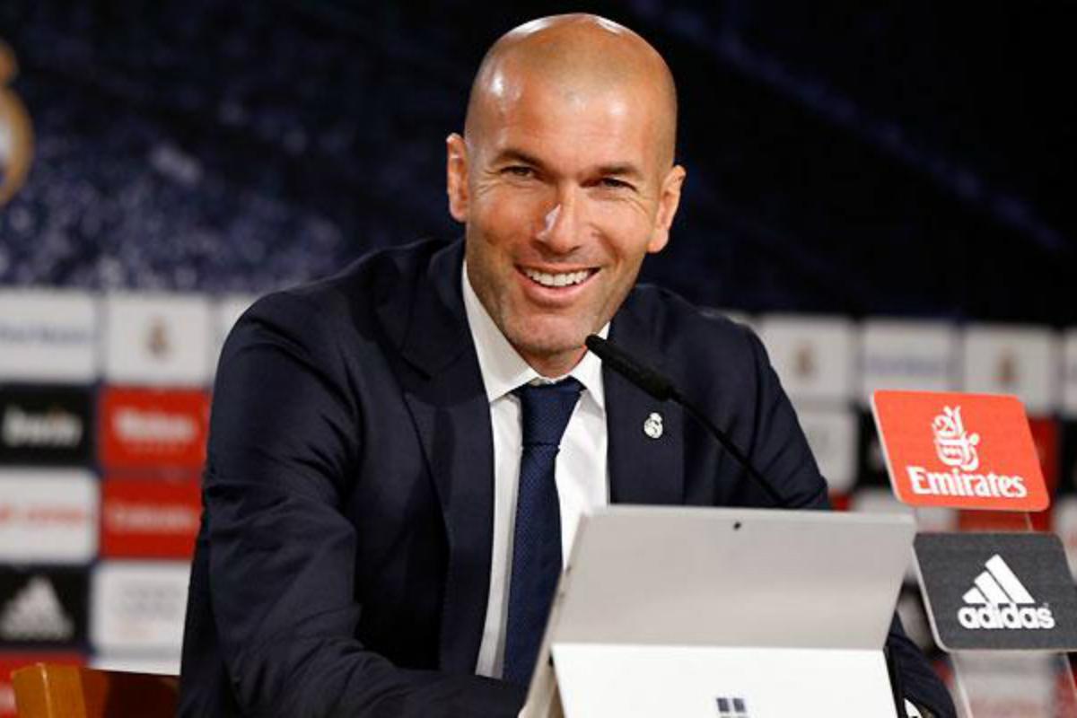 Zidane al mal tiempo, también, buena cara